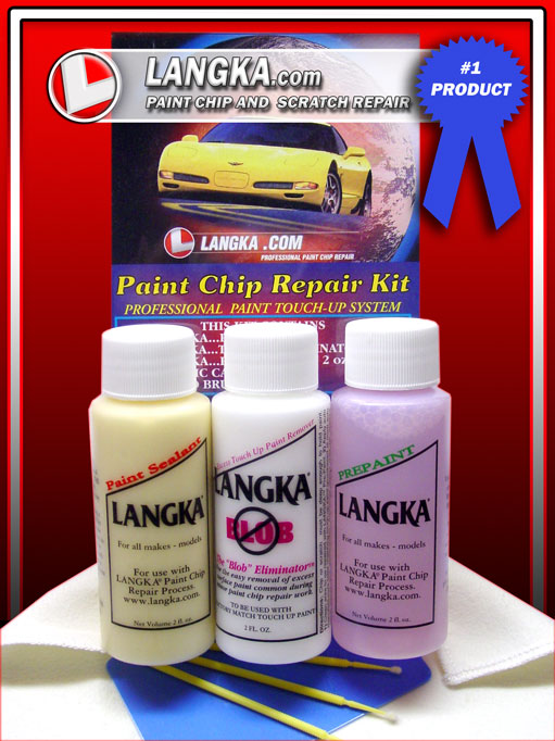 Deep Scratch Repair >> Langka - Paint Chip Repair Kit